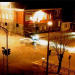 Авария на главном перекрестке города