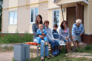 Дома для переселенцев Кимры