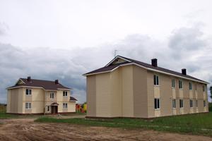 Дома для переселенцев из ветхого жилья в Кимрах