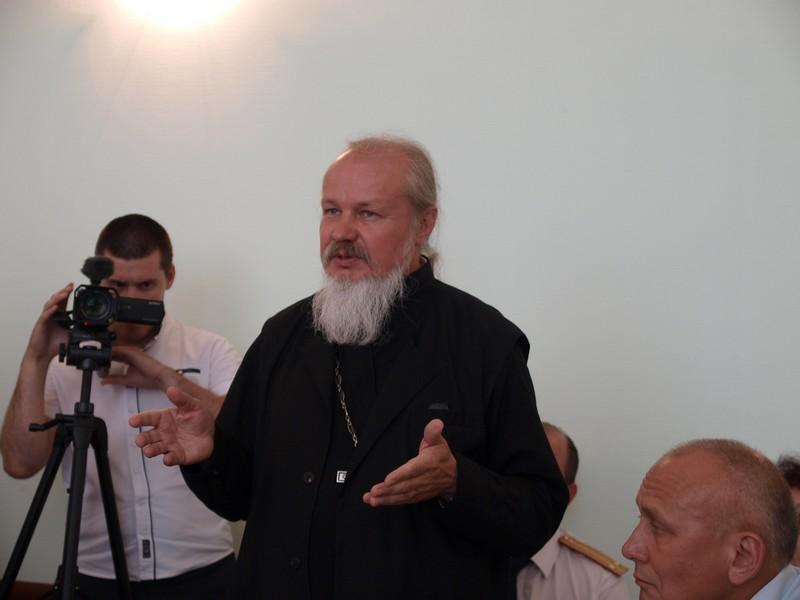 Протоиерей Андрей Лазарев, настоятель храма Вознесения господня