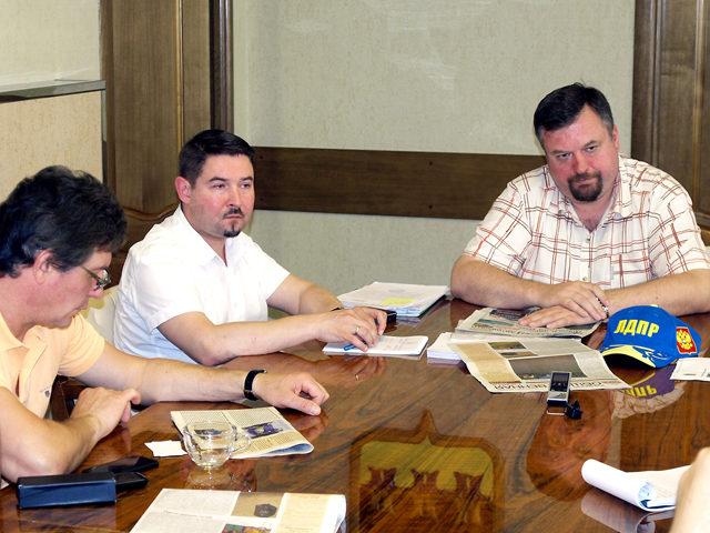Откровенный разговор депутатов с депутатами