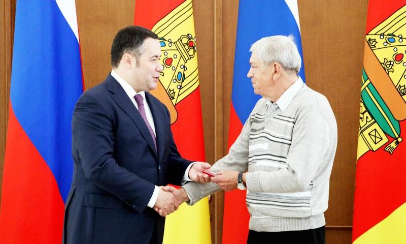 Государственные награды Игорь Руденя вручил жителям Тверской области