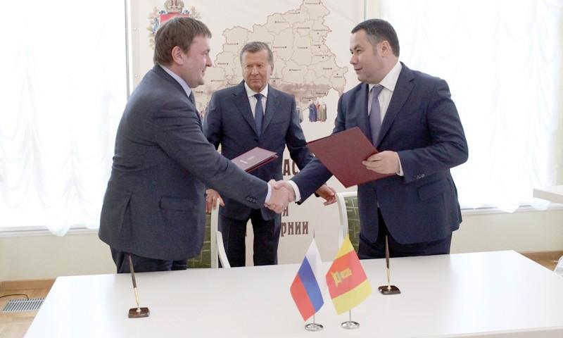 Подписали соглашение по газомоторному топливу Тверская область и «Газпром»