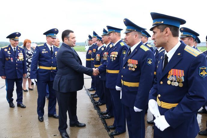 104-ю годовщину образования Военно-воздушных сил Российской Федерации отметили в Твери