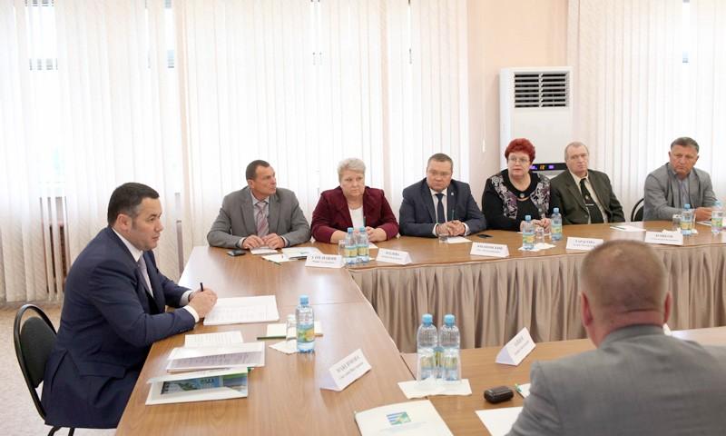 Вывести регион в лидеры ЦФО одна из главных задач