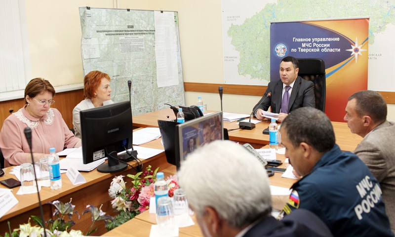 Игорь Руденя провел селекторное совещание по готовности к учебному году