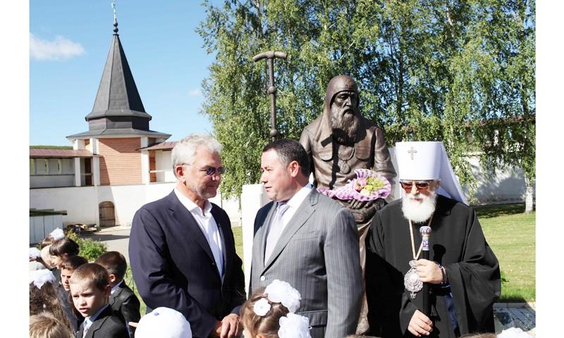 Престольный праздник Старицкого Свято-Успенского монастыря