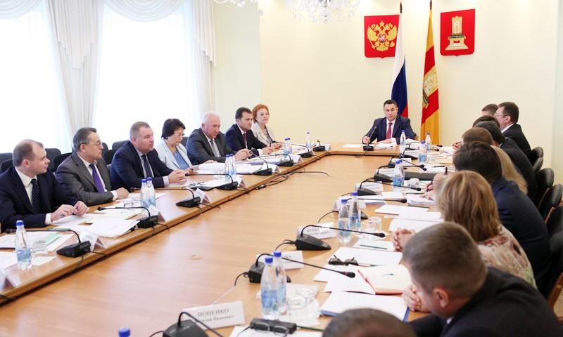 Нового заместителя Председателя Правительства представил Игорь Руденя