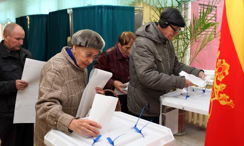 В Тверской областиЕдиный день голосования
