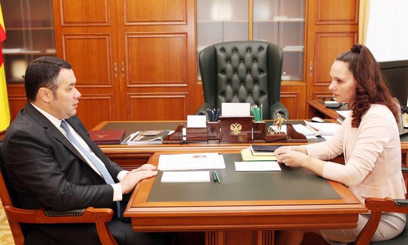 На посту председателя Контрольно-счетной палаты Тверской области губернатор предлагает оставить Татьяну Ипатову