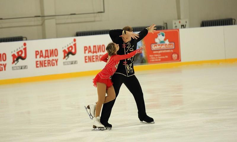 На высшей ступени пьедестала — Дмитрий Сопот и Екатерина Борисова