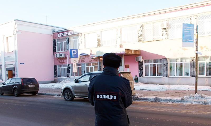 22 ноября в Кимрах эвакуированы городская и районная администрации