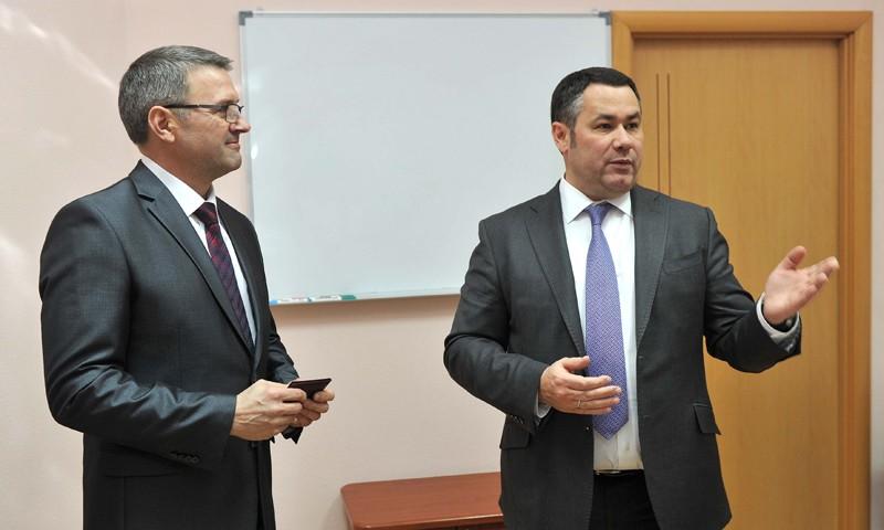 Министерству транспорта Тверской области Игорь Руденя представил нового руководителя