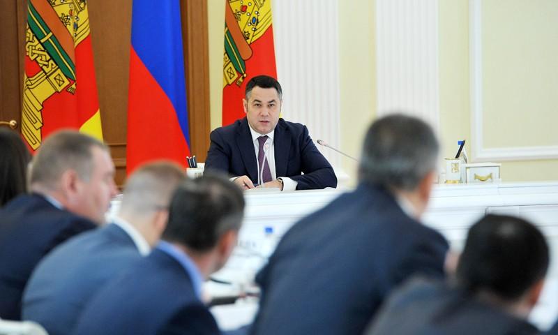 В Правительстве региона рассмотрели законопроект по развитию отрасли. Более 800 млн рублей – на поддержку промышленности Тверской области