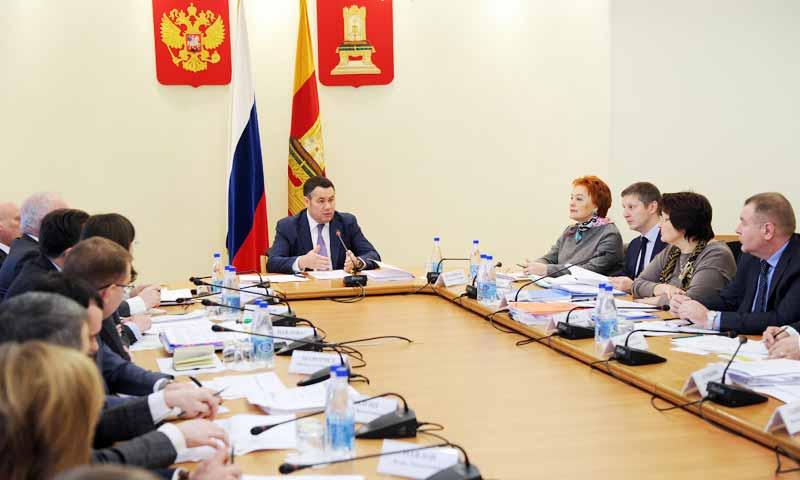 Эффективность использования бюджетных средств повысить в приоритетных отраслях Тверской области