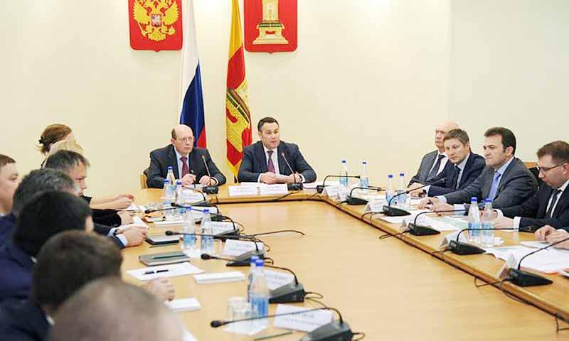 Вопросы строительства трассы М-11 обсудили в Правительстве Тверской области