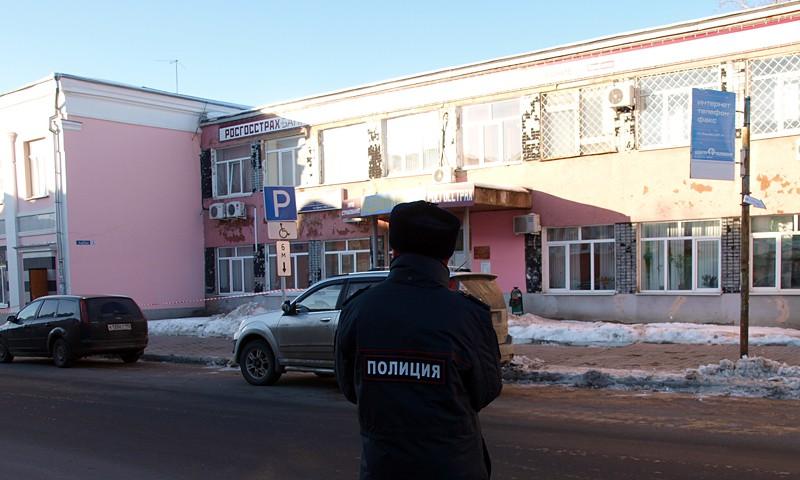 В Кимрах эвакуированы городская и районная администрации