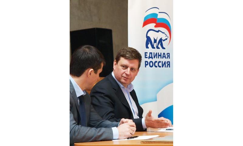 Сенатор усилил местное отделение «Единой России»