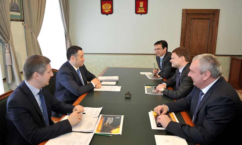Игорь Руденя обсудил с руководством ПАО «Ростелеком» перспективы сотрудничества