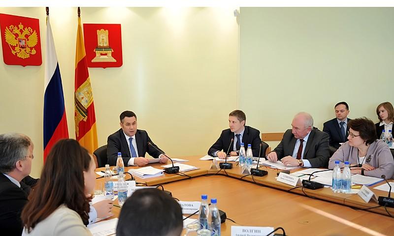 Принято решение сократить расходы на содержание органов власти и госуправление в Тверской области