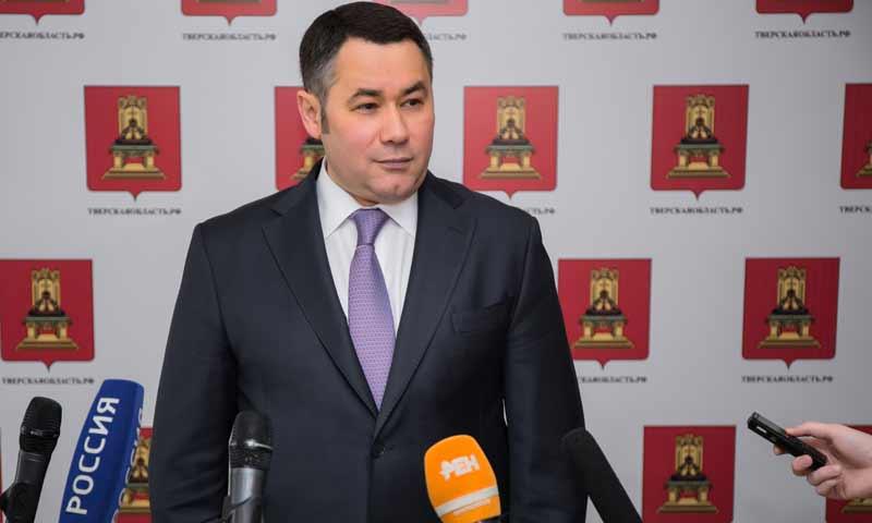 Игорь Руденя вошел в четверку самых медийных губернаторов ЦФО