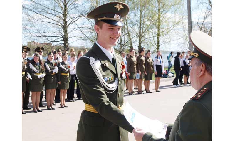 Перед 9 мая кимрские юнармейцы выявили лучших