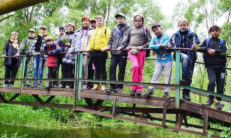 Экологический поход пятой школы