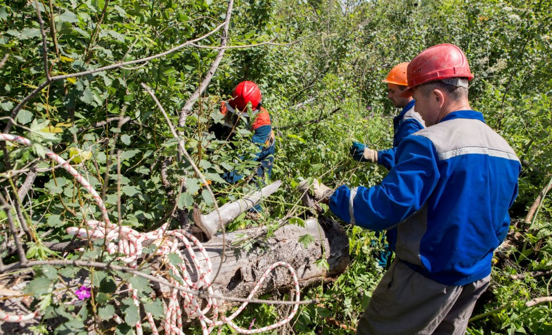 Восстановление электроснабжения в Тверской области 5 августа 2017
