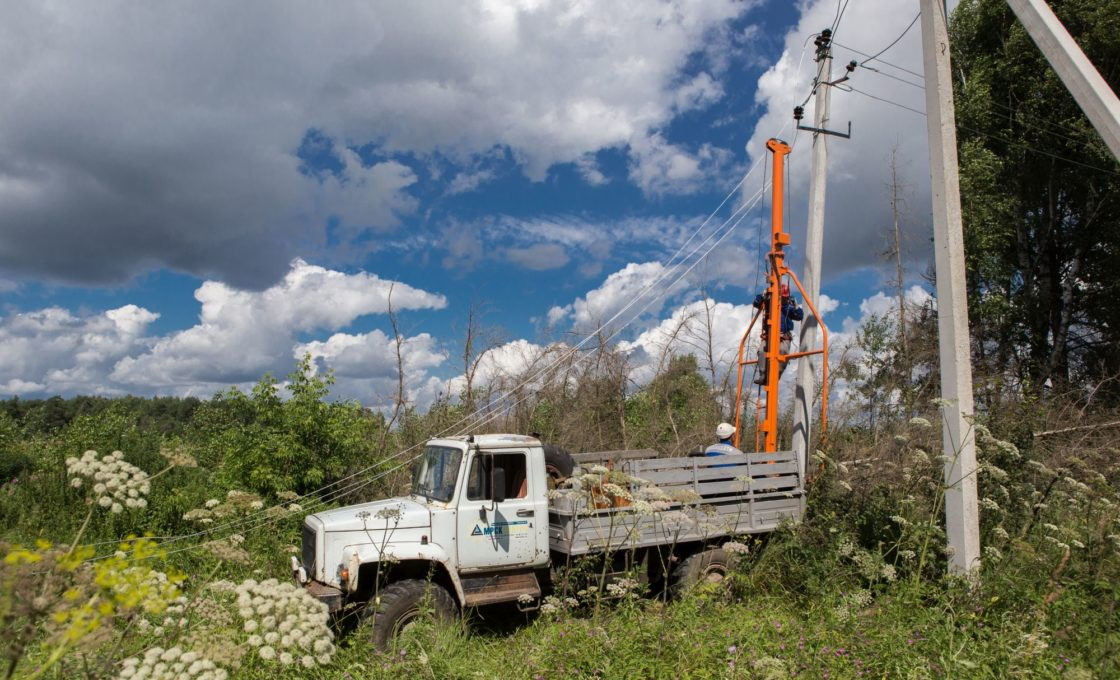 восстановлением электроснабжения Тверской области