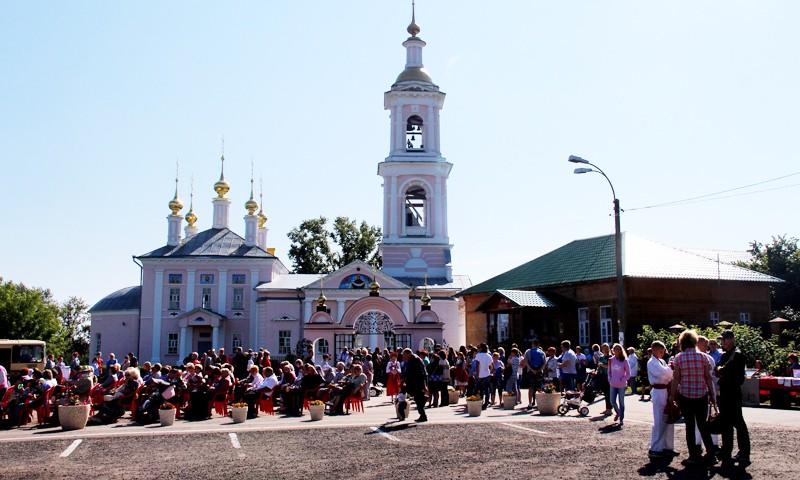 В Кимрах открылся международный православный фестиваль «Мы славяне»