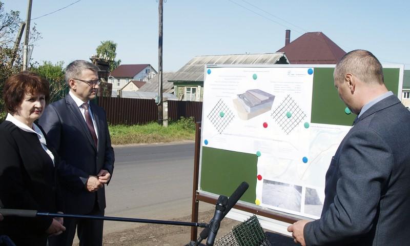 Идёт ремонт дорог и дворовых территорий в Кимрском районе