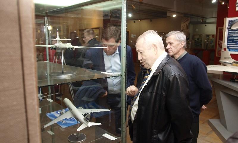 Макеты самолетов КБ Туполева Кимрский музей