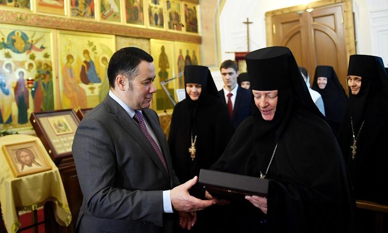 Игорь Руденя принял участие в праздновании 25-летия возрождения Оршина женского монастыря