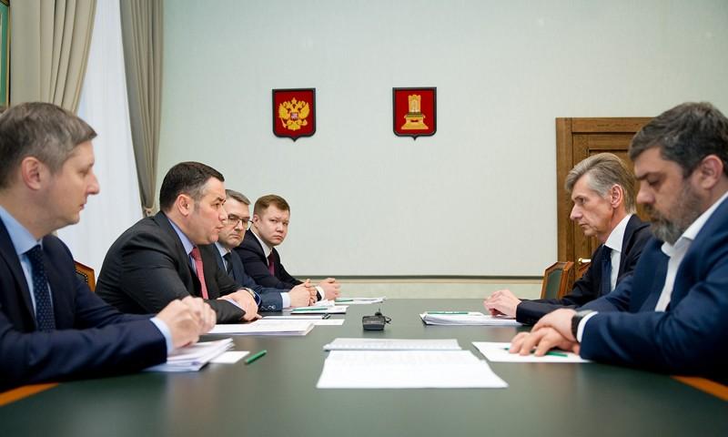 Компания «РЖД» готова участвовать в развитии туристических и инфраструктурных проектов в Тверской области