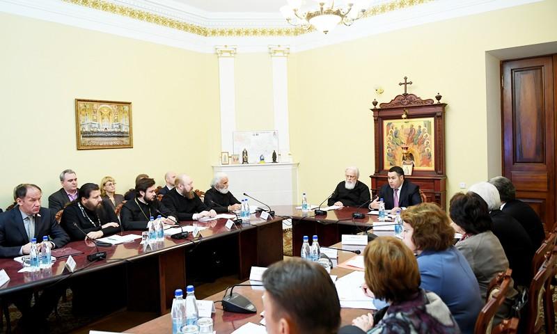 Игорь Руденя провёл первое заседание Координационного совета по духовно-нравственному воспитанию граждан в Тверской области