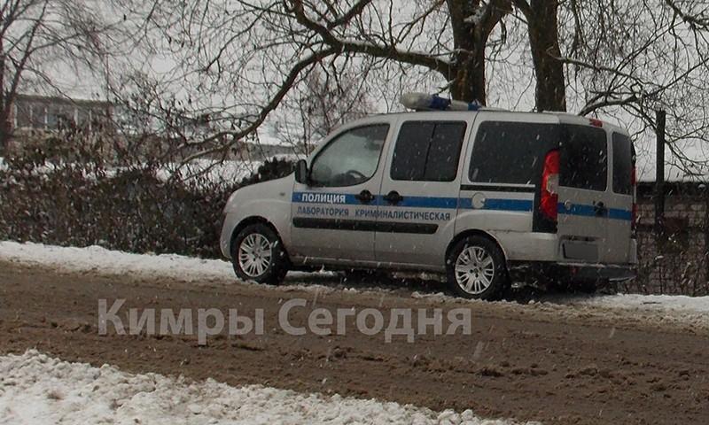 В Кимрах обстреляли сотрудников полиции