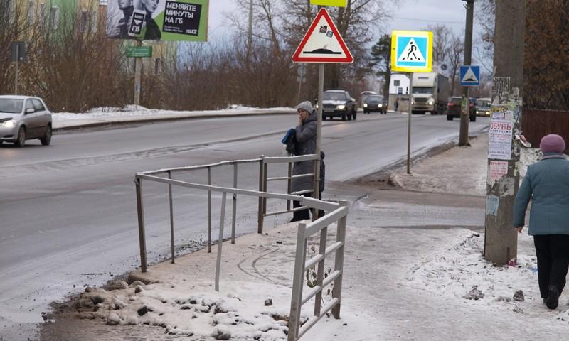 Почему перенесли пешеходные переходы