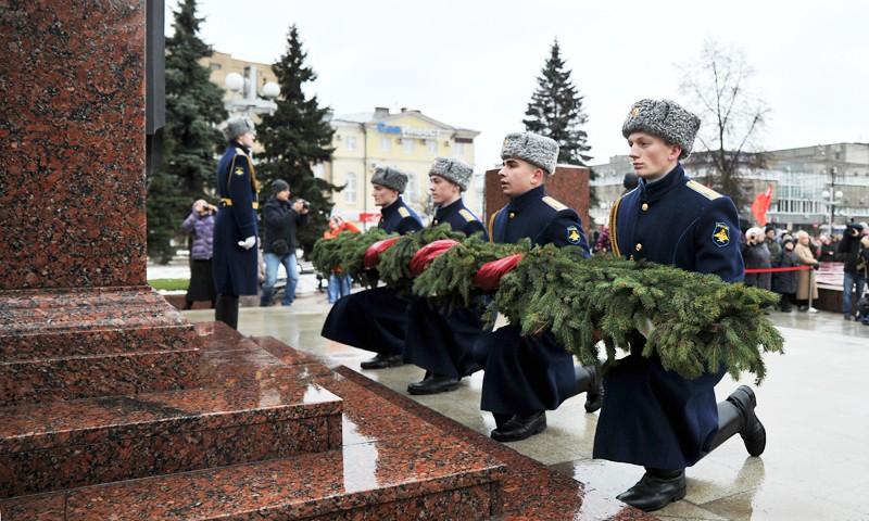 В Твери проходят торжества в честь 76-летия освобождения города от немецко-фашистских захватчиков