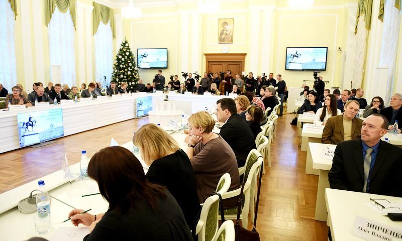Игорь Руденя провёл для журналистов Тверской области пресс-конференцию по итогам 2017 года