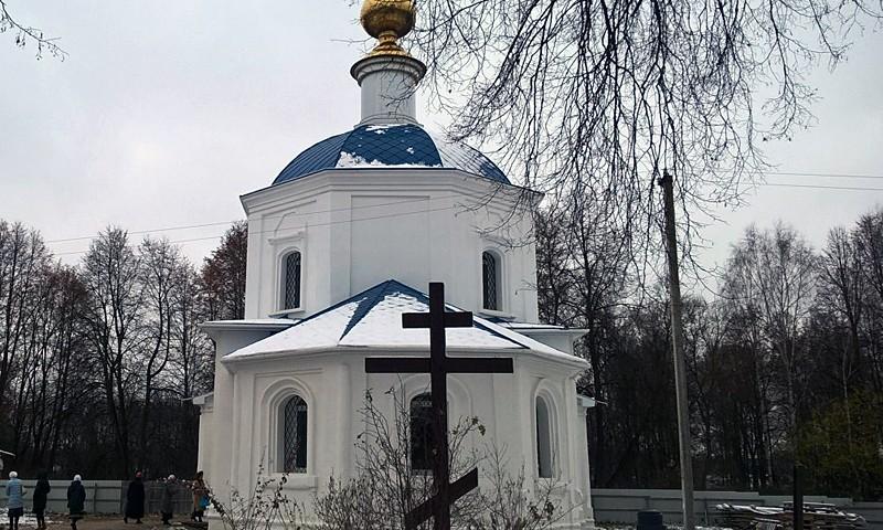 Первая после начала ремонта литургия состоится 25 декабря в старейшем кимрском храме Казанской иконы Божией Матери