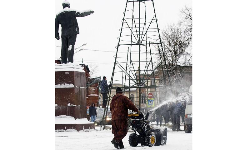 Зимний режим содержания улиц