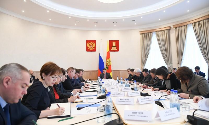 Игорь Руденя обозначил приоритетные направления работы Правительства Тверской области в 2018 году