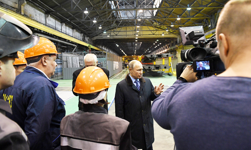 Владимир Путин: проект строительства нового моста через Волгу в Твери будет рассмотрен в феврале