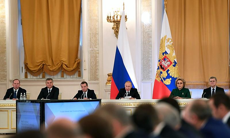 Игорь Руденя принял участие в заседании Госсовета РФ, которое провел Владимир Путин