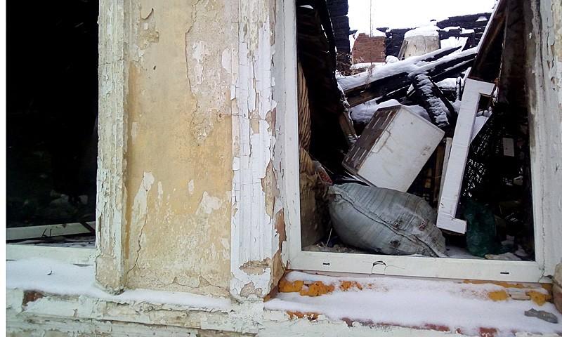 Брошенный дом в г. Кимры на ул. Шевченко, 25