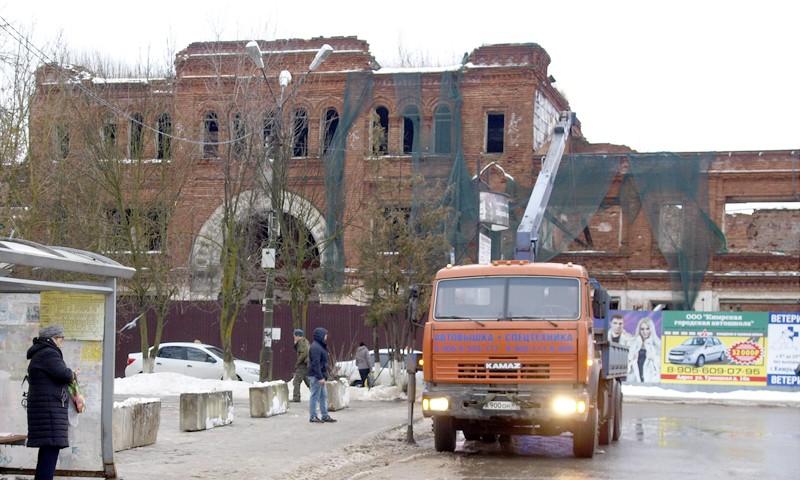 После суда кимрские развалины обернутся кучей проблем