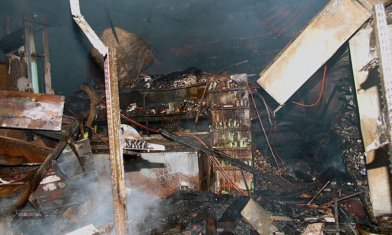 В городе Кимры сгорела «Пятёрочка», погиб один человек