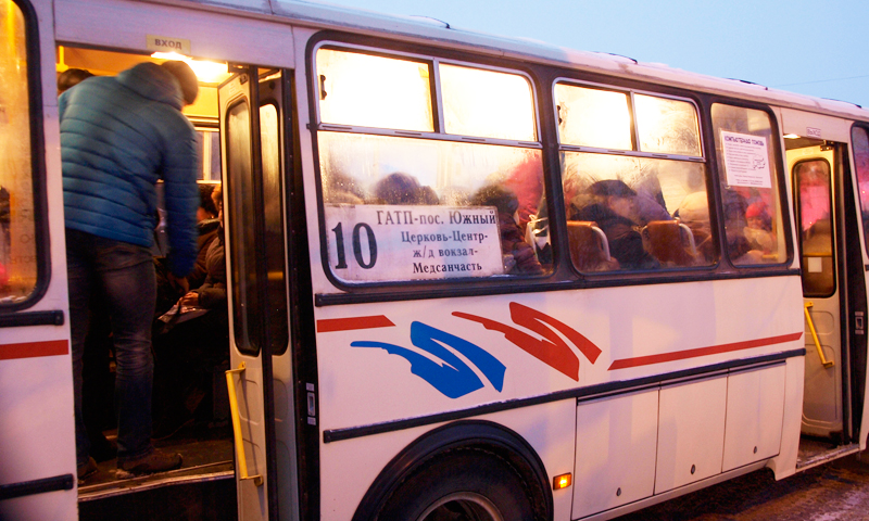 Расписание автобусов будут корректировать