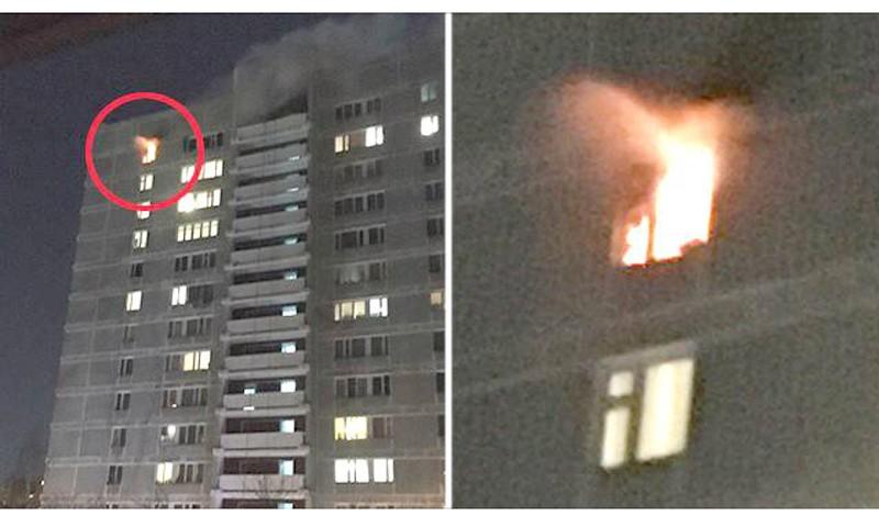 В Москве героически погибли двое пожарных. Среди них кимряк Александр Драевский