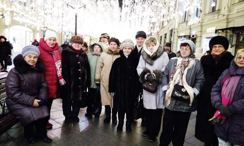 Кимрские ветераны  посетили столицу